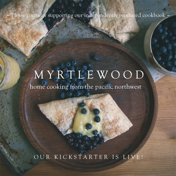 Myrtlewood Cookbook cover