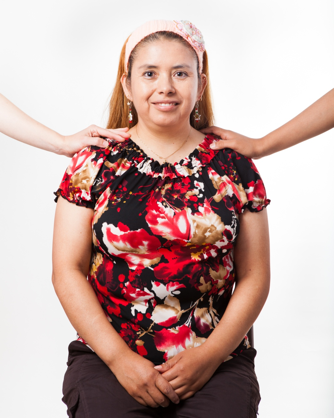Alicia Lopez with hands on her shoulders, Inheritance